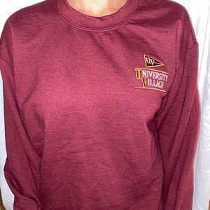 university of minnesota crew neck sweatshirt